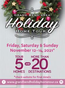 2021 - Holiday Home Tour - Grand Bend & Area November 12 - 14, 2021