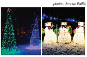 Christmas Lights in Grand Bend 2020